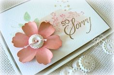 So Sorry... by pennysmiley - Cards and Paper Crafts at Splitcoaststampers