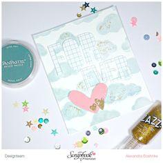 Karte Forever - Scrapbook Werkstatt Juli Kit 2015 - designed by Alexandra Boehnke (Tandi-Works)