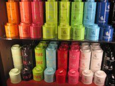 Rainbow teas!