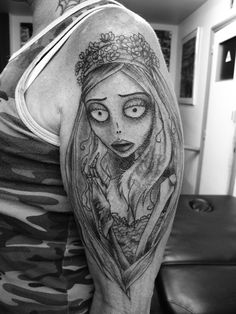 2a9d66cdc 44 best Jack And Emily Tattoos images in 2017 | Corpse bride tattoo ...
