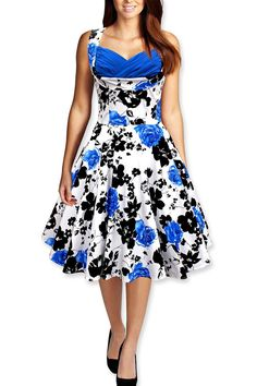 wing Dress Ladies Tunic Ruched Elegant Rockabilly