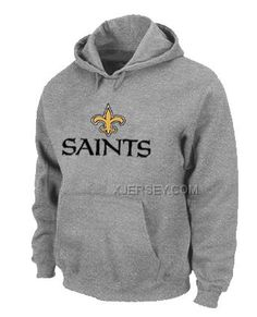 http://www.xjersey.com/new-orleans-saints-authentic-logo-pullover-hoodie-grey.html Only$50.00 NEW ORLEANS SAINTS AUTHENTIC LOGO PULLOVER HOODIE GREY Free Shipping!