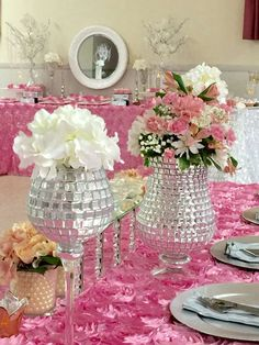 Roses Quinceanera Party Centerpieces See More Planning Ideas At CatchMyParty Baby