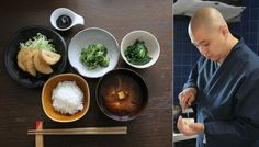 Japanese monks are teaching a new generation of chefs to use seasonal ingredients – and zen principles – to elevate their cooking. Contributor Abigail Leonard reports from Tokyo on Buddhist cuisine. Japanese Vegetarian Recipes, Veggie Recipes, Asian Recipes, Japanese Recipes, Japanese Food, Traditional Japanese, Veggie Food, Japanese Culture, Organic Cooking