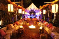 Arabian Nights Theme for a separate lounge/bar section to the event? Arabian Nights Wedding, Arabian Nights Theme, Event Themes, Event Decor, Party Themes, Party Ideas, Event Ideas, Themed Parties, Arabian Tent