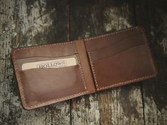 Hollows Leather — Eastbound - Bifold Wallet