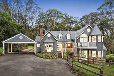 Storybook - Red Hill House For Sale Contemporary Architecture, Amazing Architecture, Melbourne, Storybook Homes, First Home Buyer, Hamptons House, Grand Homes, Facade House, House Facades