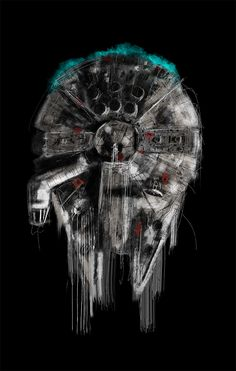alwaysstarwars:  Awesome portraits by Rafal Rola  From one science fiction lover to another.