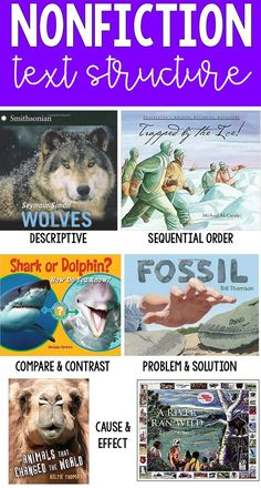 Teaching Nonfiction Text Structure - Ashleigh's Education Journey