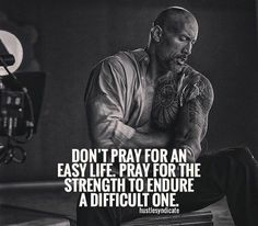 Hustle Quotes, Motivational Quotes, Get Back Up, You Are Strong, Dwayne Johnson, Business Inspiration, Im In Love, Monday Motivation, Work Hard