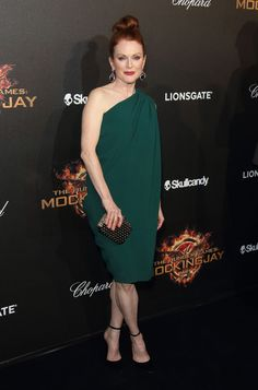 C'est Cannes 2014! - Julianne Moore in Lanvin and Chopard jewels for Hunger Games premiere