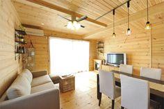 海辺の住宅地に建つモデルハウスが表現する一般住宅としてのログハウスの魅力。|株式会社ウッドストック|神奈川の注文住宅、自然素材の家・輸入住宅|E-LIFE注文住宅