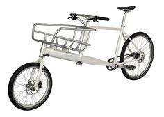 Cargo bike designed for urban commuters.