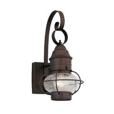 Designers Fountain Nantucket 1 Light Outdoor Wall Lantern Size: 1