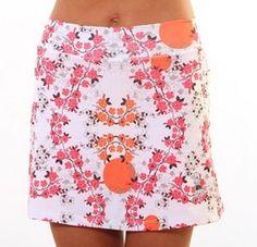 Athletic Skirt Cerise Blossom