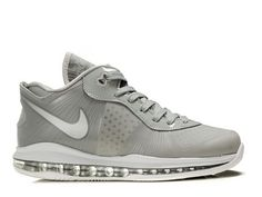 Nike LeBron 8 V2 Low Metallic Silver,Style code:456849-002,The Nike LeBron  8 V2 Low features wolf grey and metallic silver colorways scheme for the  entire ...
