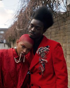 """midnight-charm: """" """"Creativity will save us all"""" photographed by Tim Walker for i-D Summer 2017 Fashion Direction: Alastair McKimm and Judy Blame Hair: Malcolm Edwards Makeup: Sam Bryant """" Black Is Beautiful, Beautiful People, Editorial Photography, Fashion Photography, Grunge Photography, Portrait Photography, Tim Walker, Afro Punk, Red Hair Color"""