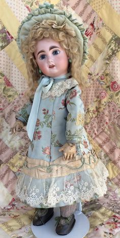 Jumeau Bebe size 8 from grandmas-parlour on Ruby Lane