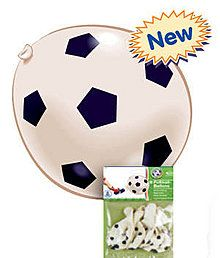 Luftballon Fußball, 8 Stück
