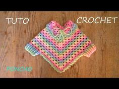 Poncho Knitting Patterns, Knitted Poncho, Baby Knitting, Crochet Patterns, Shawl Patterns, Crochet Cape, Free Crochet, Knit Crochet, Crochet Shawl