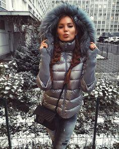 Conso Wear - down jacket, fur hood
