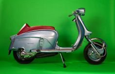 A beautiful Ancillotti Restoration by Rimini Lambretta Centre.