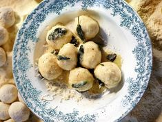 Butter and Sage Gnudi From 'Jamie Oliver's Comfort Food'