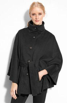 Calvin Klein belted cape