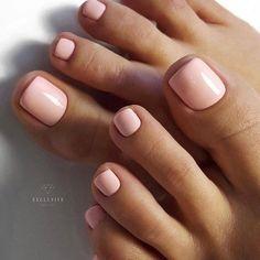 Pink Toe Nails Pedicure Nails Get Nails Nude Nails Gel Toe Nails How To Do Nails Hair And Nails Toenails Shellac Nail Colors Gel Toe Nails, Pink Toe Nails, Pretty Toe Nails, Toe Nail Color, Cute Toe Nails, Summer Toe Nails, Feet Nails, Nail Polish Colors, Spring Nails