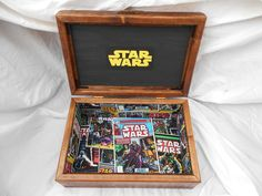 Star Wars Themed Keepsake Boxes made by Thistle Woodworking. I hand build these and other themed keepsake boxes.
