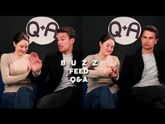 Shailene Woodley & Theo James - Buzz Feed Q&A (March 14, 2016) - YouTube - 7:27-:37 OMG I CANT WITH THEM