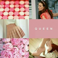 Preppy Pink Featuring Queen Blair Waldorf