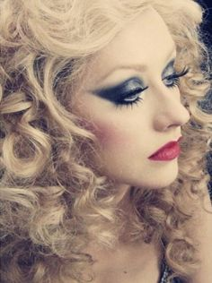 #christina #aguilera #burlesque! I love her hair! Especially in the , ovie Burlesque!