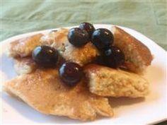 Blender Wheat Pancakes (using whole wheat berries)