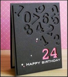 En manque d'inspiration pour une carte d'anniversaire originale ? Voici une idée pour les 18 ans ou les 20 ans de votre fille, d'une amie, d'une nièce ou d'une autre personne proche. J'espère que ce modèle pourra vous donner des idées pour confectionner...: