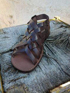 leather sandals, Shoes, Sandals, men sandals brown, sandals flat, sandals adjustable, sandals comfortable, sandals barefoot, sandals platform,