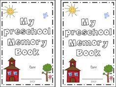 *Updated with Pre-K pages & and Pre-Kindergarten pagesThis is a 12 page preschool memory book that we have created to be both kid and teacher friendly. We have included both a color version, and a black and white version so that your students are able to personalize this just for them.