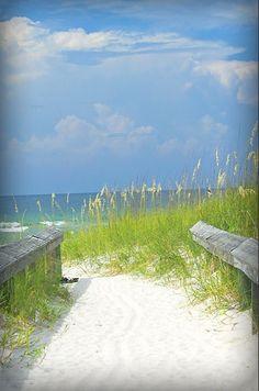 Sugar white sand - breathtaking beaches along the Emerald Coast