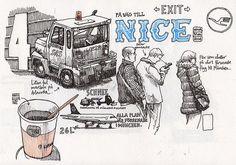 Going to Nice, dec 2014. Nina Johansson
