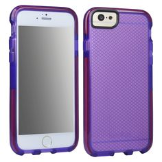 Tech21 Impact Check Cell Phone Case for iPhone 6 - Purple (98231VRP)