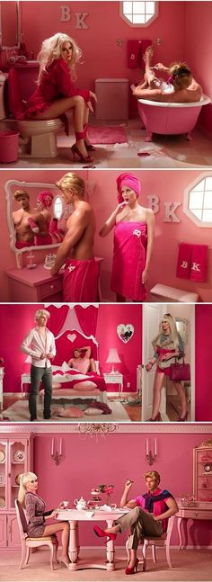 Barbie & Ken everyday life! hahahaha