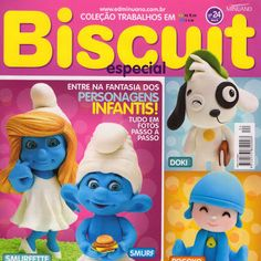 Biscuit -smurfs - bia