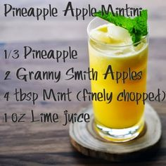 Pineapple Mintini