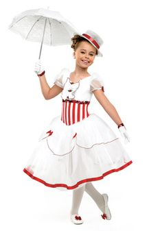 """Em's ballet costume to """"Let's Go Fly a Kite"""""""