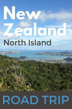 New Zealand North Island road trip.