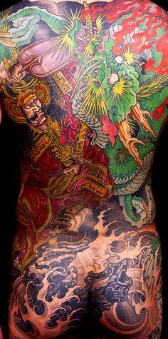 Filip Leu tattoo work...