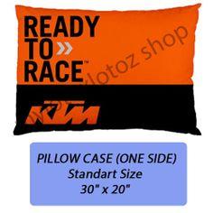 KTM Motorcross Pillow Case Cover Bedding Standart by MyloXylotoz, $14.99