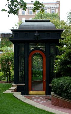 Entry Pavilion to private residence, Boston, Mass.