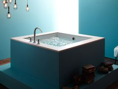 I could really, really relax in this tub!  Different faucet though.