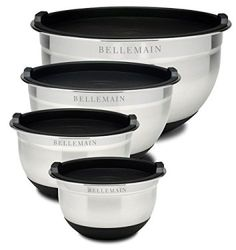 Top Rated Bellemain Stainless Steel Non-Slip Mixing Bowls with Lids, 4 Piece Set Includes  It is easy to find great gifts for women under $50 when you know here to look.  I have found so many cool, trendy and unique gift ideas for her online.   You can find Home décor gifts, beauty gifts, jewelry gift ideas and fashion gifts all for under and under fifty dollars.  In addition to being adorable these cool gifts under $50 Dollars for her are popular, charming and cute!